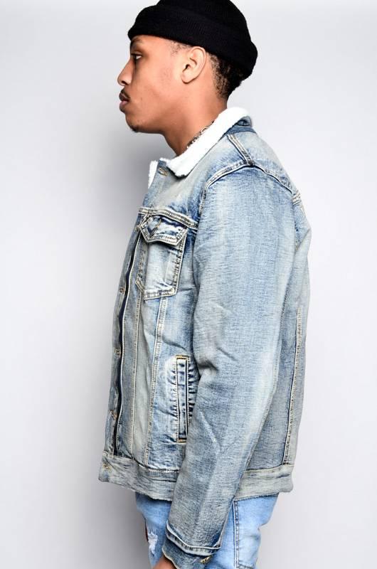 Embellish Denim Embellish Motley Jacket Vintage Wash