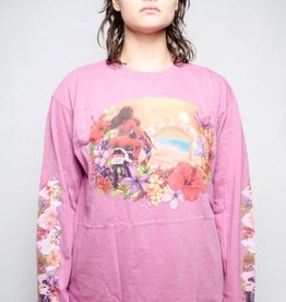 Stussy Stussy Hellshire Pig Dyed LS Tee Orchid