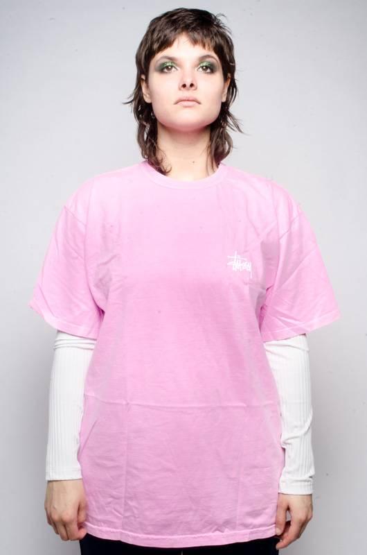 Stussy Stussy Hellshire Pig Dyed Tee Pink