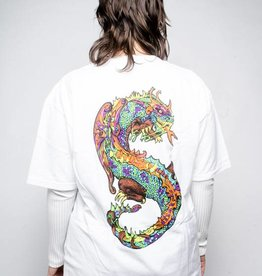 Stussy Stussy Neon Dragon Tee White