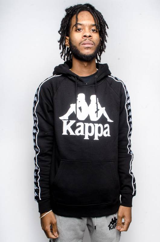 kappa Kappa AUTHENTIC HURTADO HOODIE Black