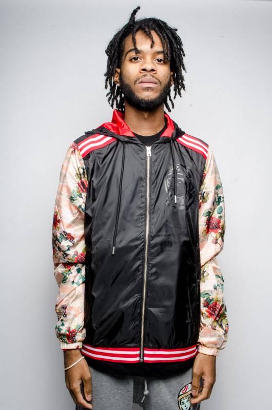 BBC BBC Beta Zip Hooded Jacket Black