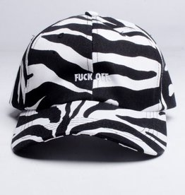 Raised By Wolves Raised by Wolves Fuck Off Cap Zebra