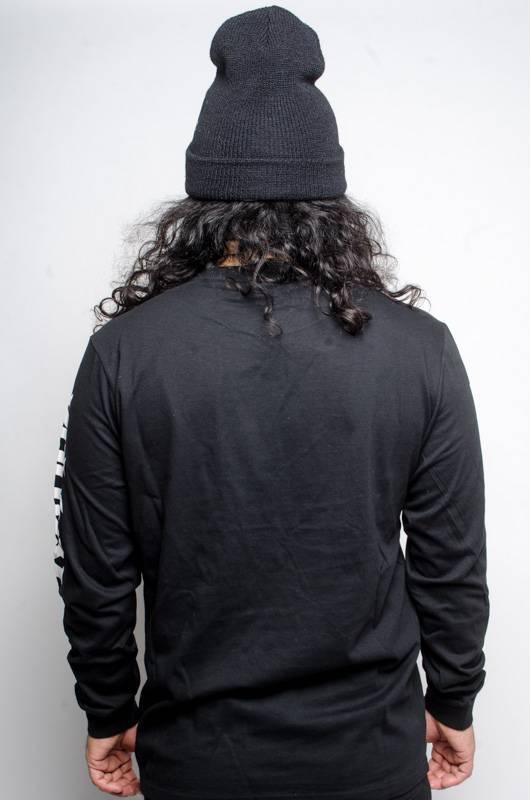 kappa Kappa AUTHENTIC RUIZ L/S T-SHIRT Black