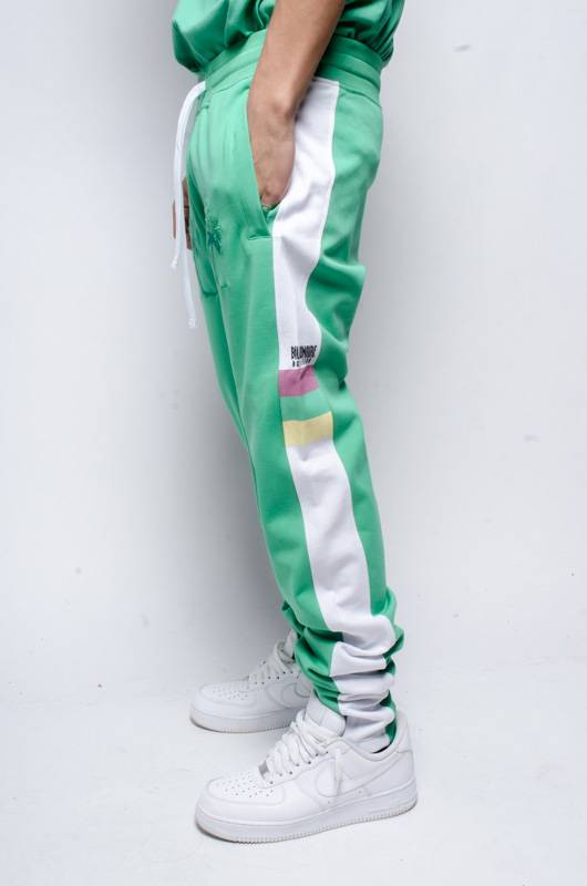 BBC BBC Palms Sweat Pants Green