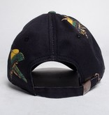BBC BBC Winged Hat Black