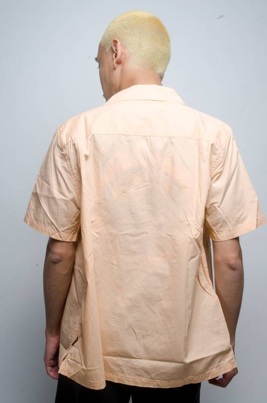 Stussy Stussy Panther Button Up Peach