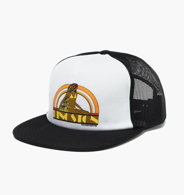 Stussy Stussy KINGSTON FOAM TRUCKER CAP Black