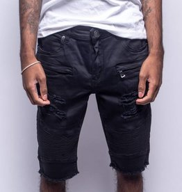 Embellish Denim Embellish Kang Shorts Black