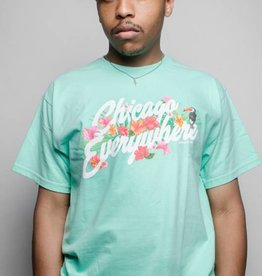 Jugrnaut Jugrnaut Chicago Everywhere Hibiscus Tee Tiffany