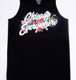 Jugrnaut Jugrnaut Chicago Everywhere Hibiscus Tank Black