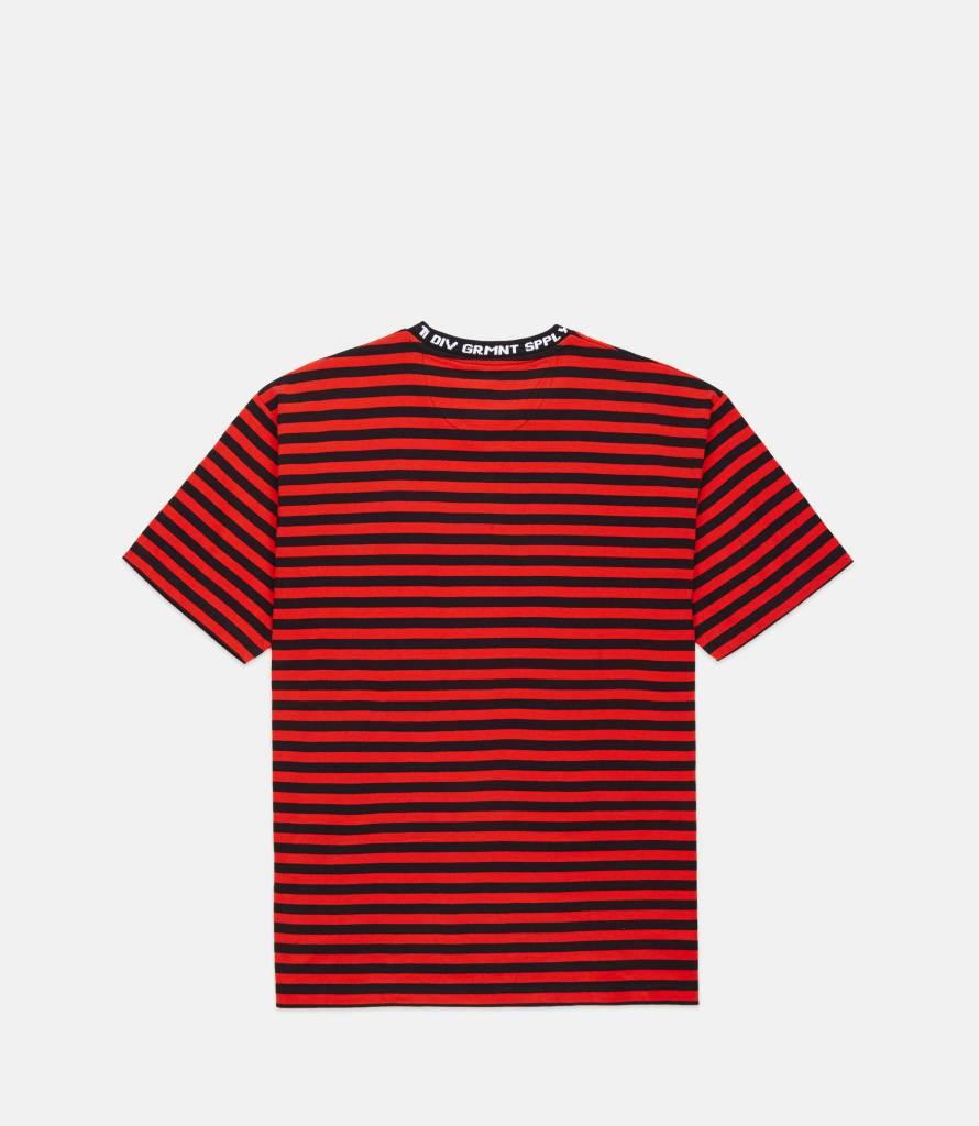 10 Deep 10 Deep Foreigner Striped Tee Red