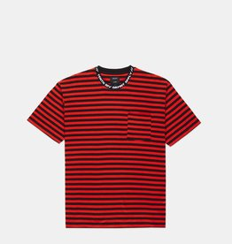 10 Deep 10 Deep Foreigner Striped Tee Red
