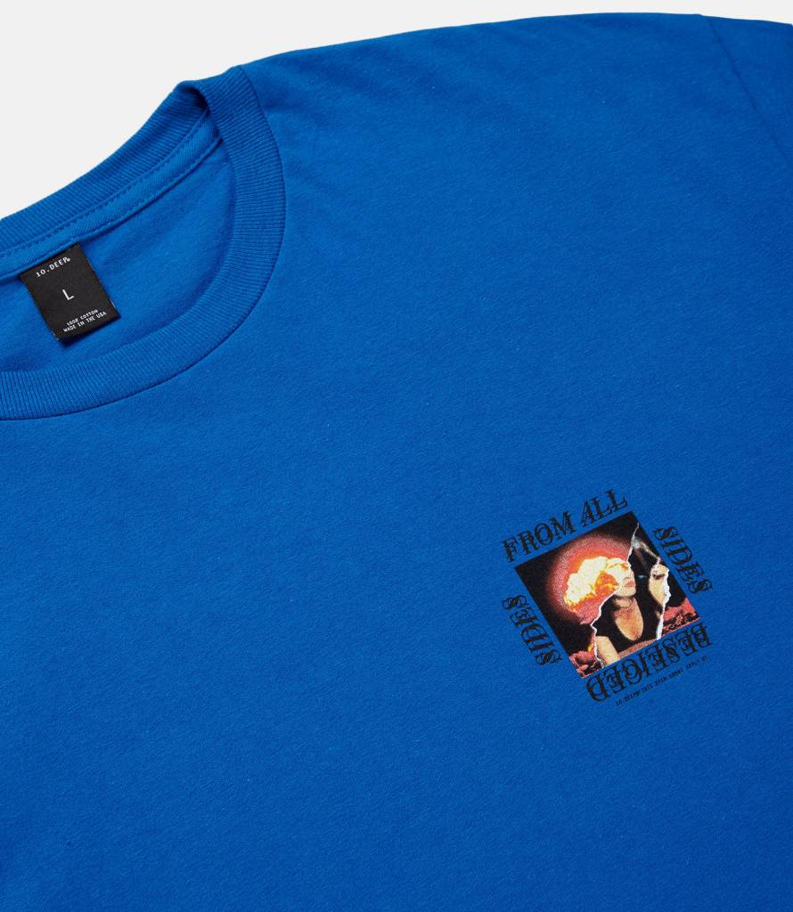 10 Deep 10 Deep Beseiged From all Sides Tee Blue