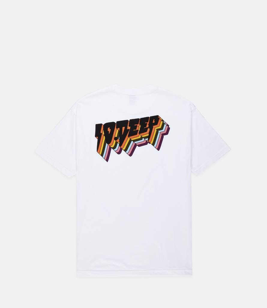 10 Deep 10 Deep All the Lights Tee White