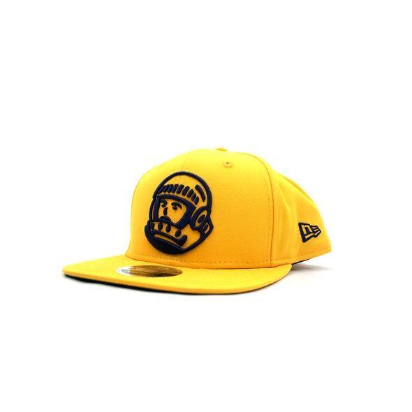 BBC BBC Helmet Snapback Hat Gold