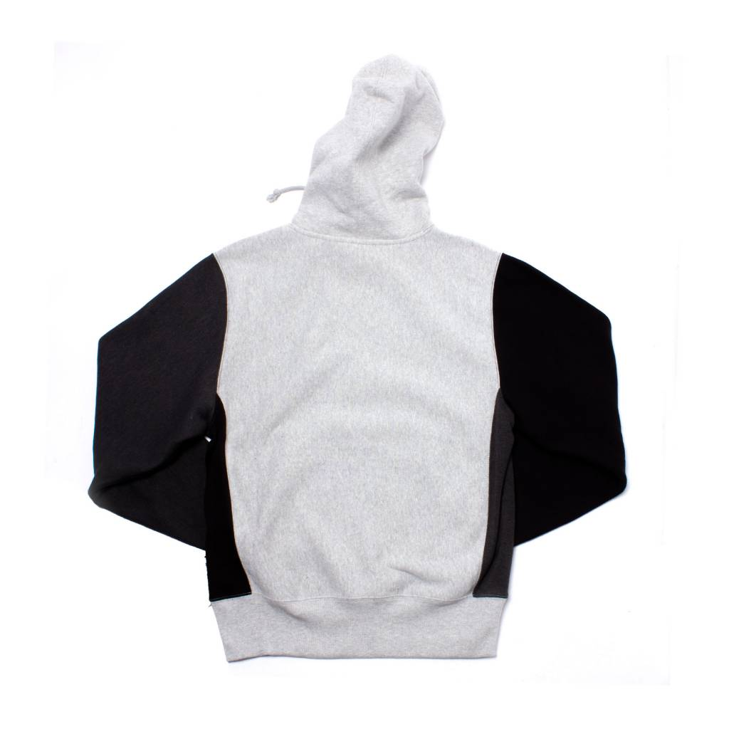 Champion Champion Color Block Hoodie Grey/Black
