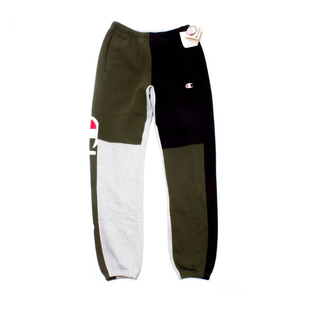 Champion Champion Color Block Sweats Grey/Forest