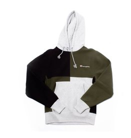 Champion Champion Color Block Hood grey/forest