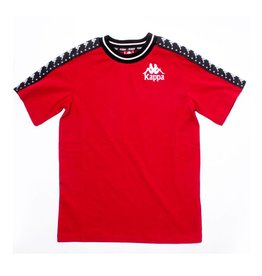 kappa Authentic Anchen Tape Tee Red/Black