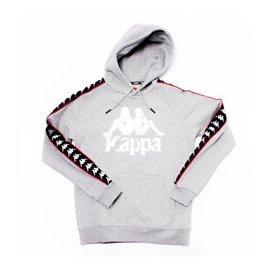 kappa Kappa Authentic Hurtado Hoodie Grey/Black/Red