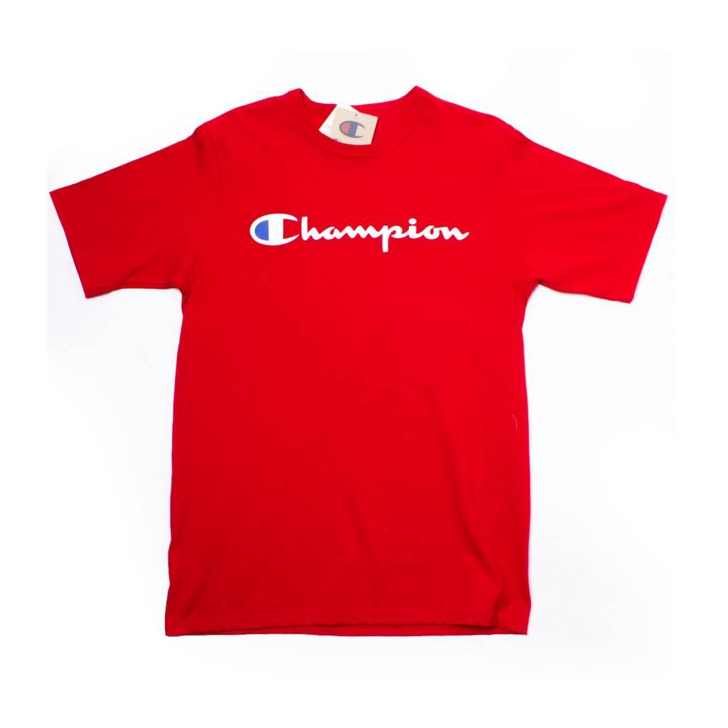 Champion Champion Rev Weave Tee Red