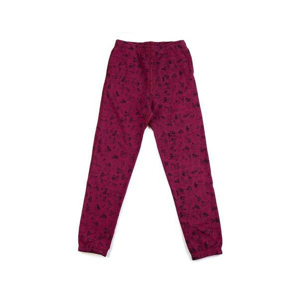 Raised By Wolves Raised by Wolves Riot Joggers Burgandy