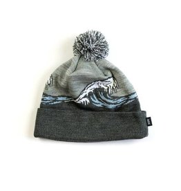 Raised By Wolves Raised by Wolves Frozen Wave Beanie Black