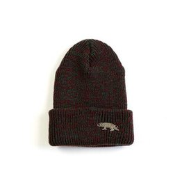 Raised By Wolves Raised By Wolves Geowolf Beanie red/green