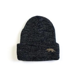 Raised By Wolves Raised By Wolves Geowolf Beanie navy/grey