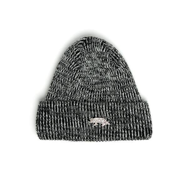 Raised By Wolves Raised By Wolves Geowolf Beanie black/white
