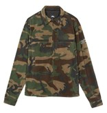 Stussy Stussy Polar Fleece Zip Up Camo