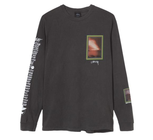 Stussy Stussy Inferno Long Sleeve Black