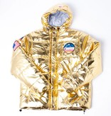 Champion Champion Metallic Puffer jacket gold