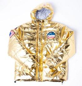 Champion Champion Metallic Puffer jacket gold