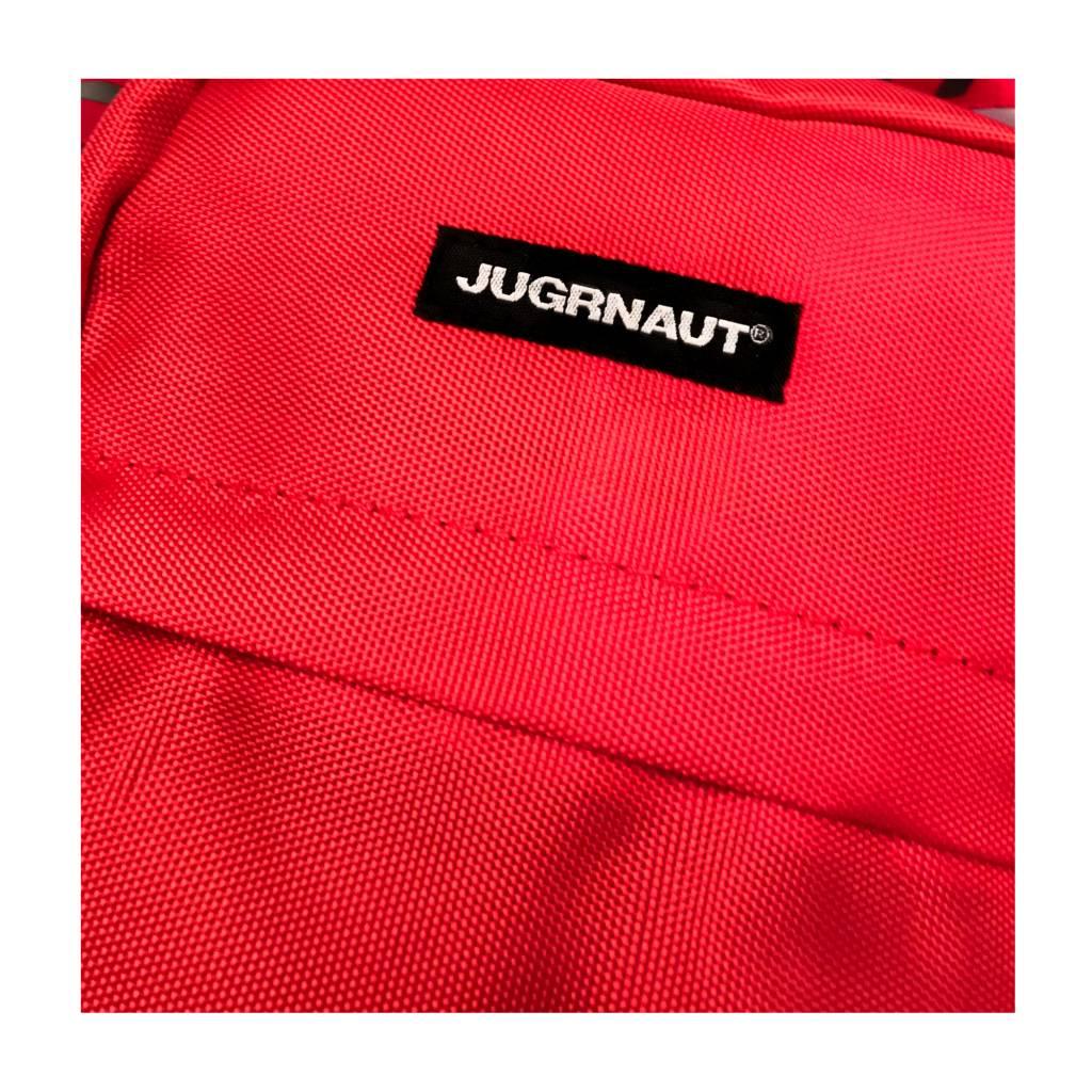 Jugrnaut Jugrnaut Side Satchel Red/Black (6 x 2 x 7.75 inches)