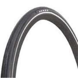 "Kenda Kenda K35 Street Tire with K-Shield and Reflective Sidewall: 27"" x 1 1/4"", Steel Bead, Black"