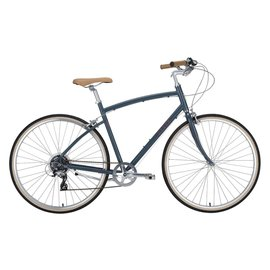 Civia Civia Lowry Step Over 7-speed Bike: Gray/Red