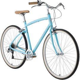 Civia Civia Lowry Step Over 7-speed Bike: Light Blue/Gray