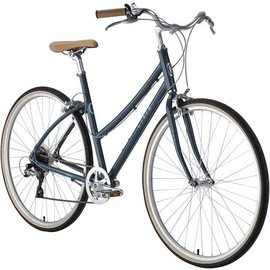 Civia Civia Lowry Step Thru 7-speed Bike: Gray/Light Blue