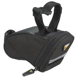 Topeak Topeak Aero Wedge Seat Bag Strap/On: Micro, Black