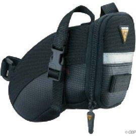 Topeak Topeak Aero Wedge Seat Bag Strap/On: Small, Black