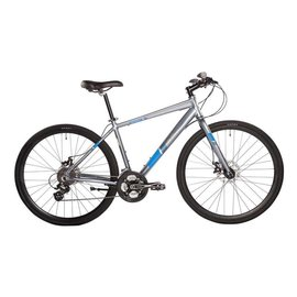 EVO EVO, Grand Rapid 5.0 Hybrid Bicycle, Silver