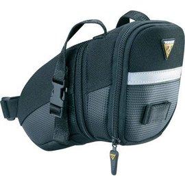 Topeak Topeak Aero Wedge Seat Bag Strap/On: Medium, Black