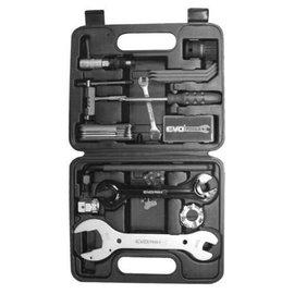 EVO EVO EV-P18 Tool Box - 18 Tools Black Handles free fast shipping