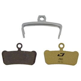 Jagwire Jagwire Mountain Pro Alloy Backed Semi-Metallic Disc Brake Pads for SRAM Guide RSC, RS, R, Avid Trail