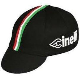 Pace Sportswear Pace Sportswear Cinelli Cycling Cap: Black