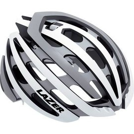 Lazer Lazer Z1 Helmet: White and Silver MD