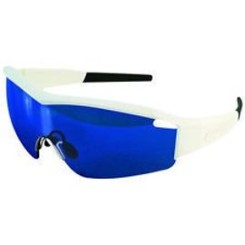 Lazer Lazer Solid State 1 (SS1-M) Sunglasses: Gloss White Frames with Three Lenses