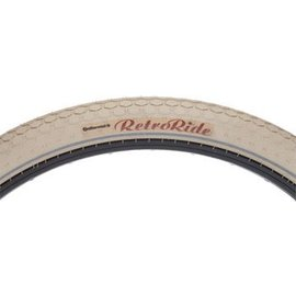 Continental Continental Retro Ride Tire 26x2.0 Cream Wire Bead